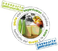 Pasaporte gastronomikoa logoa