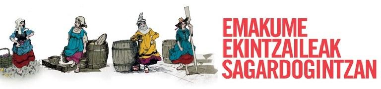Exposición Emakume ekintzaileak sagardogintzan