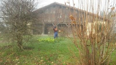 Igartubeiti y su entorno en enero