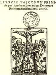 Linguae vasconum primitiae