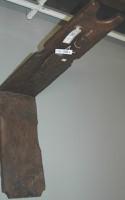Espada exposición lino en Igartubeiti