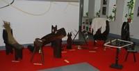 Exposición Trabajando el lino en Igartubeiti
