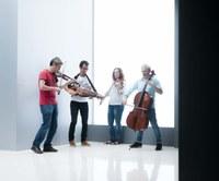"""Concierto """"Garden"""" de Alos Quartet en el lagar de Igartubeiti"""