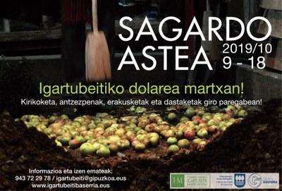 El Caserío Museo Igartubeiti celebra su Semana de la Sidra más sostenible y accesible del 9 al 18 de octubre