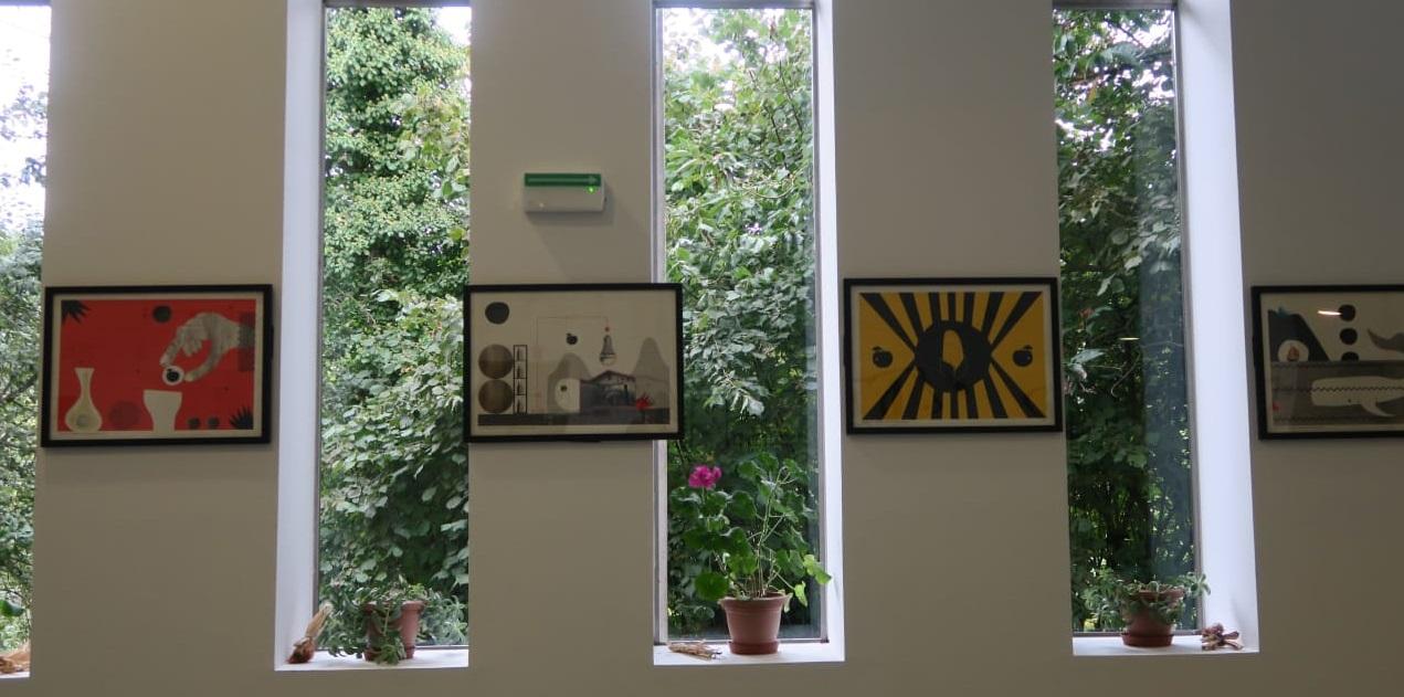 SagarArte, exposición en la que artistas contemporáneos exploran la cultura de la manzana