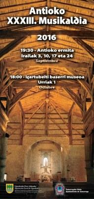 Antioko XXXIII. Musikaldia