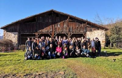 Turismo arloko eragileak Igartubeiti Baserri Museoan