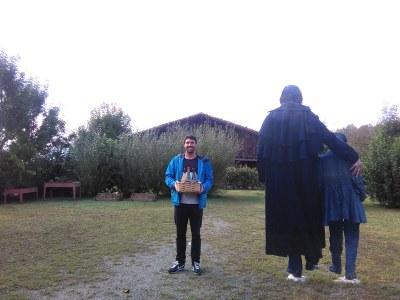 Zorionak Aroa Perezi eta Iker Aginagari, #Handiaren lagunak Challenge sarituei!