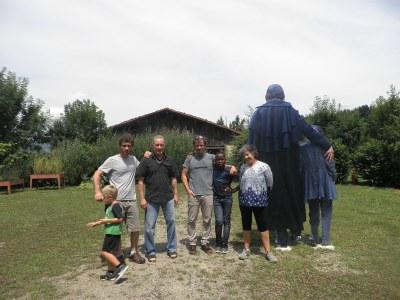 Asier Gogortzaren familia