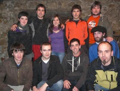 2011ko bertsolari taldea